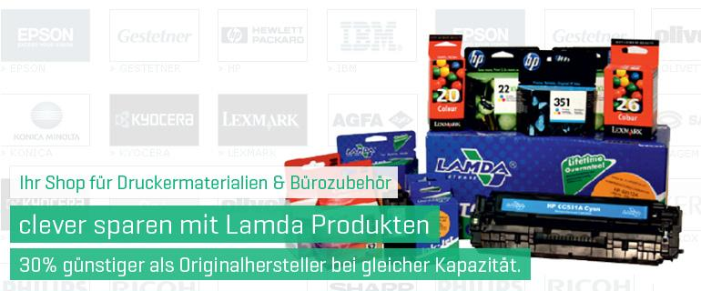 Lamda Toner und Tinte Druckerpatronen